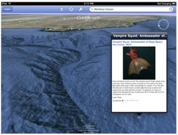 You can now explore the oceans on the Google Earth app for iOS