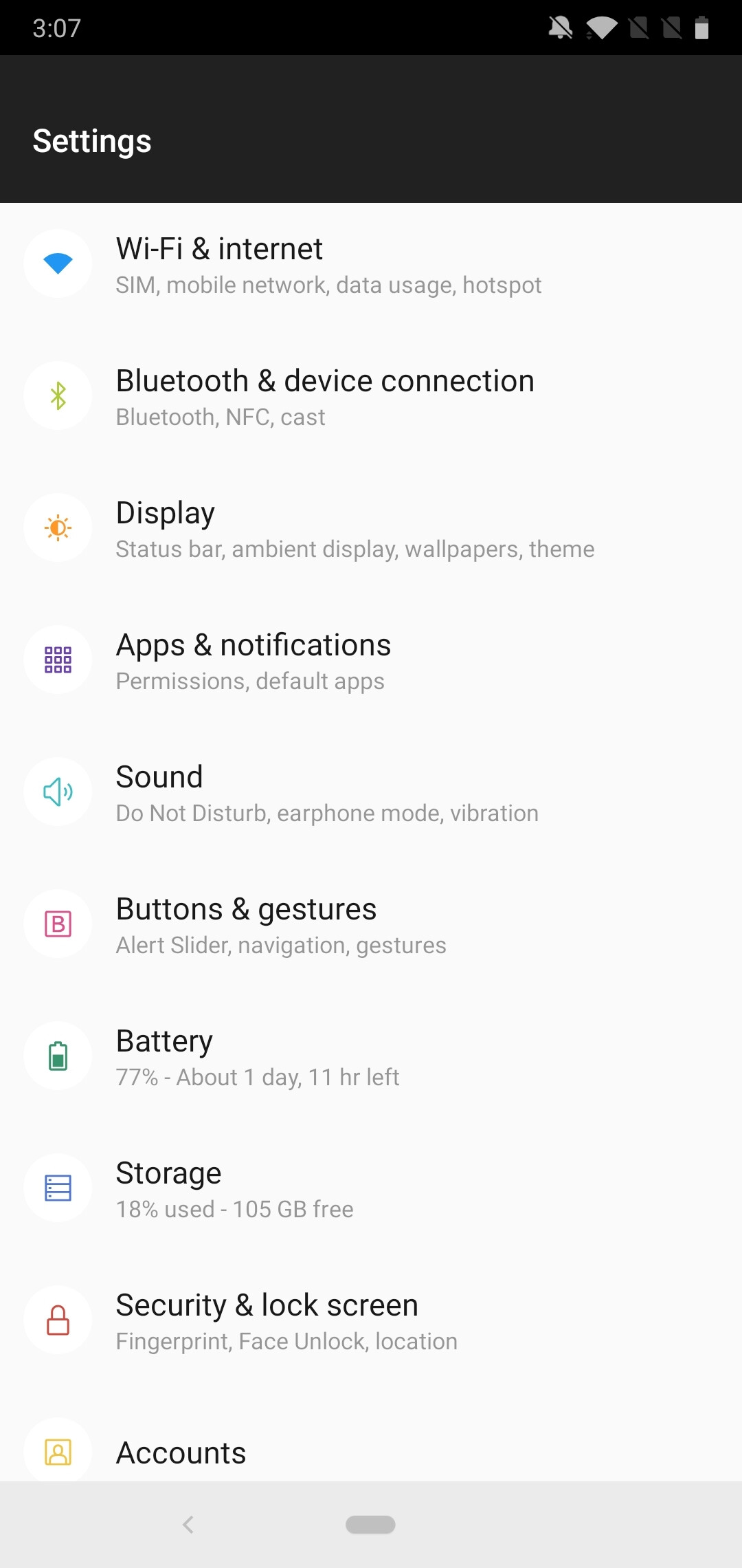 A walkthrough of Android Pie on the OnePlus 6: Meet the new and