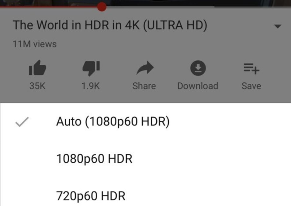 YouTube iOS update adds HDR support for iPhone XS and XS Max
