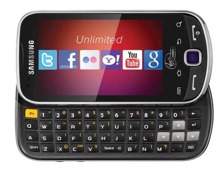 Virgin Mobile adopting Samsung Intercept