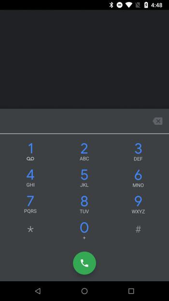 Der dunkle Modus ist jetzt in der Google Phone Beta-App