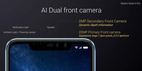 Xiaomi Redmi Note 6 Pro is unveiled in Thailand