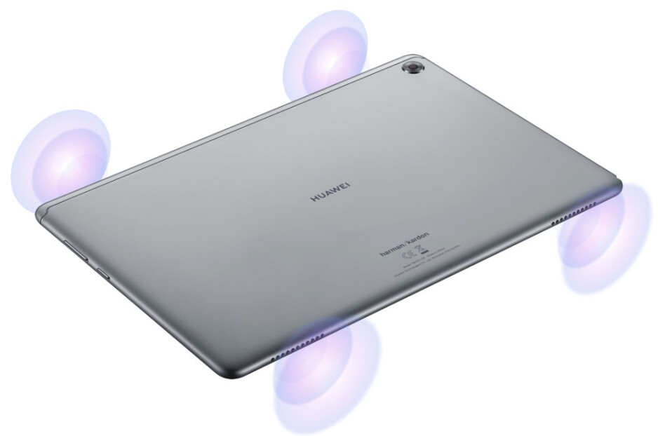 Huawei MediaPad M5 Lite unveiled with quad stereo speakers tuned by Harman Kardon