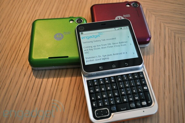 Flipout to arrive in time for holidays according to Motorola
