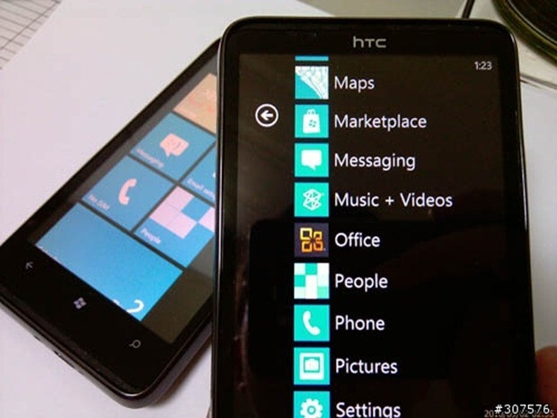 First concrete in the wild shots of the HTC HD7 are captured in Taiwan?