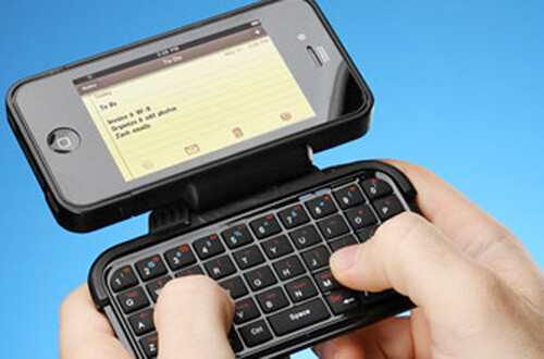 $50 iPhone case packs a usable QWERTY keyboard