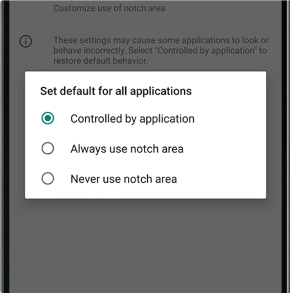 October security update for the Essential Phone brings back notch support - Essential Phone October Android security update brings back notch support