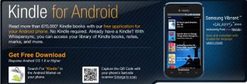 Kindle for Android gets upgrade with new features
