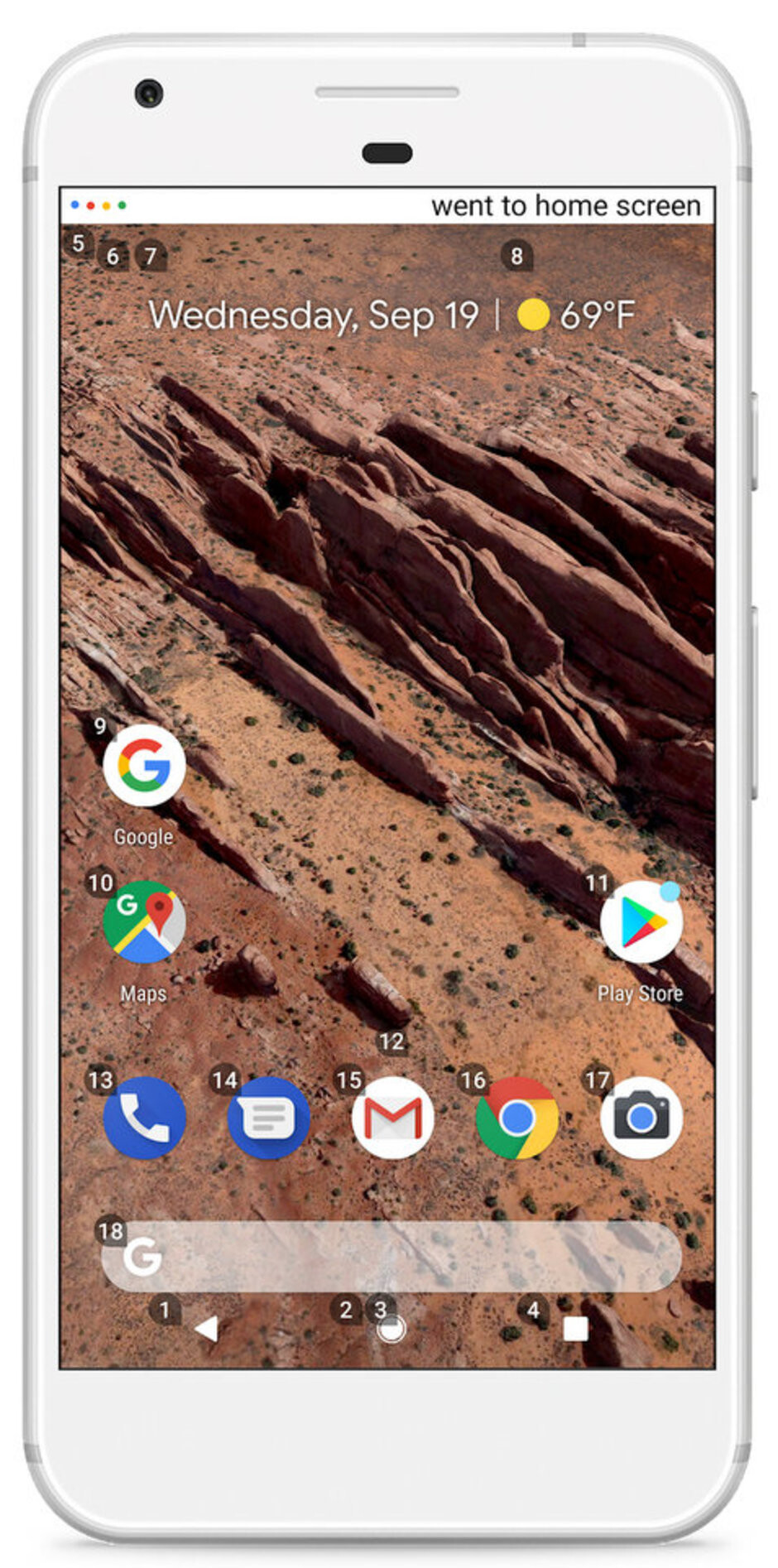 Android homepage using Voice Access - Google launches Voice Access app, promises Android users hands-free control
