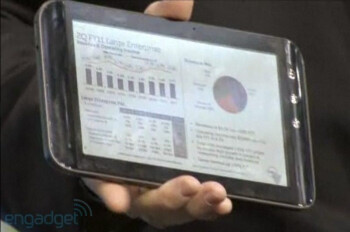 "Dell 7"" tablet gets a closeup courtesy of Oracle"