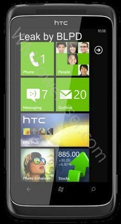 Alleged specs sheet for the HTC 7 Trophy has been leaked