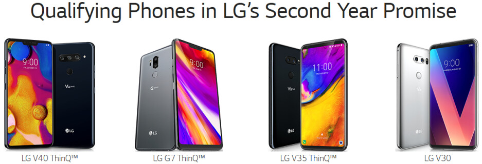 LG V40 ThinQ will come with free 2-year warranty in the US