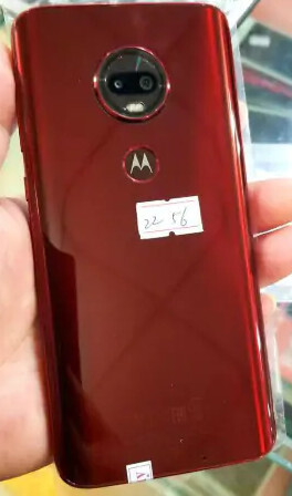 Alleged Moto G7 prototype is supposed to carry a waterdrop notch at the front - Alleged Moto G7 specs leak tips Motorola may hop on the big-screen train