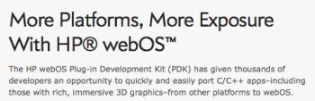 Palm webOS begins rebranding as HP webOS