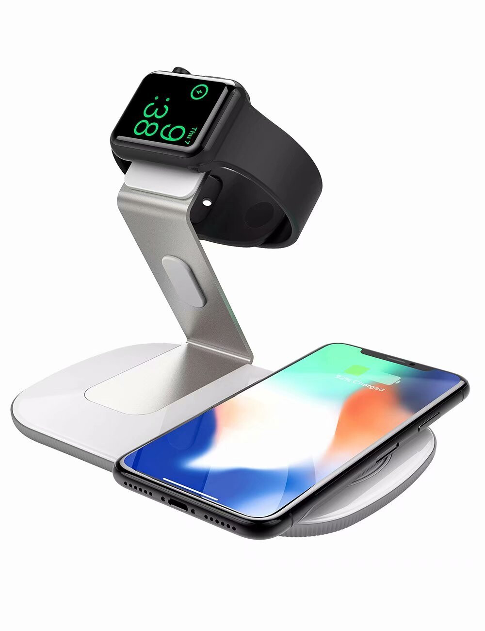 best qi wireless chargers compatible with the iphone xs and xs max phonearena. Black Bedroom Furniture Sets. Home Design Ideas