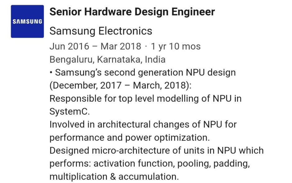 Samsung Galaxy S10 processor to arrive with dedicated NPU
