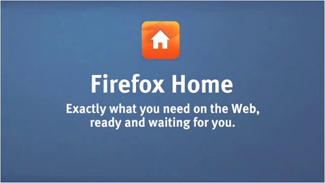Firefox Home heading over to Symbian and BlackBerry