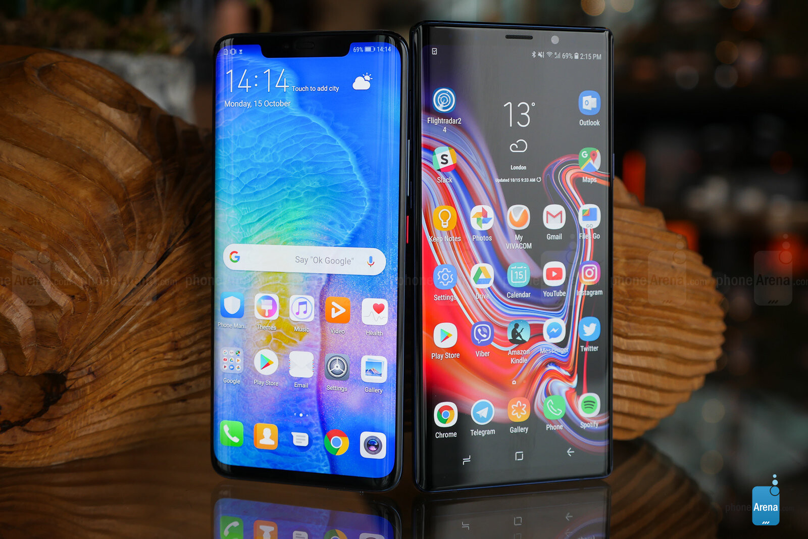 Huawei Mate 20 Pro Vs Samsung Galaxy Note 9 First Look