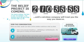 "US Cellular is counting down until ""The Belief Project"" is here"