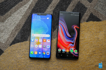 Huawei Mate 20 Pro vs Samsung Galaxy Note 9: first look | PhoneArena reviews - PhoneArena