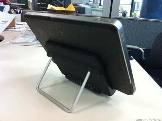 Images of HP's Windows 7 Slate 500 tablet are revealed in photos and video