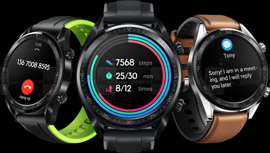 Huawei Watch GT and Huawei Band 3 Pro: AI on your wrist, unbelievable battery life