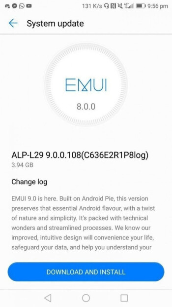 Android 9 Pie update starts rolling out for Huawei Mate 10 2