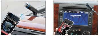 Scosche MotorMouth II auxiliary Bluetooth adapter offers a reliable wireless connection