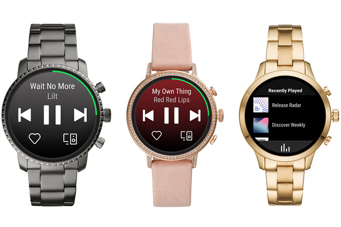 Fossil Gen 4 and Michael Kors Access Runway smartwatches - Spotify launches standalone app for Wear OS smartwatches