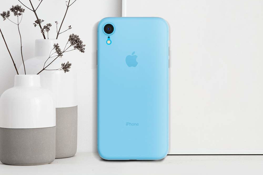iphone xr clear thin case