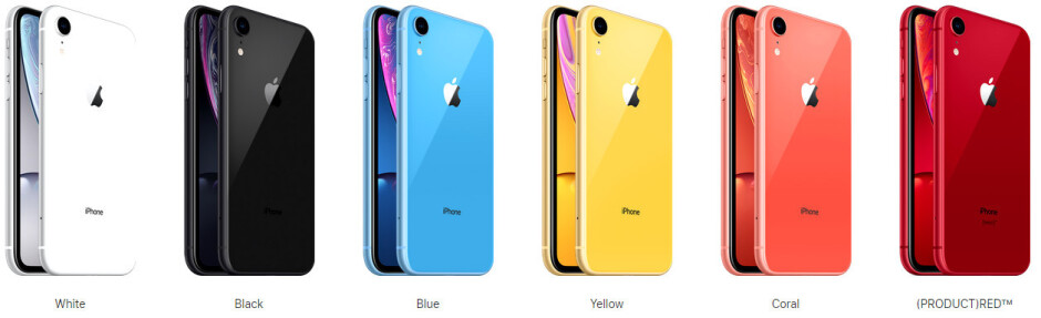 Red is the favorite iPhone XR color (results)