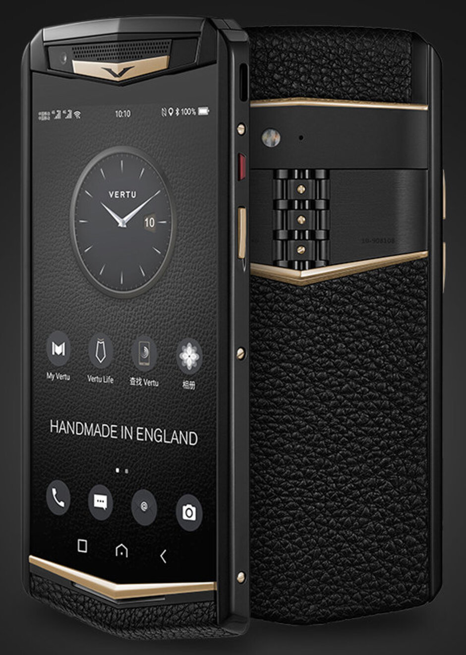 Vertu Aster P - Vertu rises from the dead with a $5,000 smartphone, the Aster P