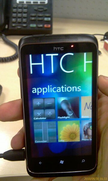 Leaked photos of HTC Spark