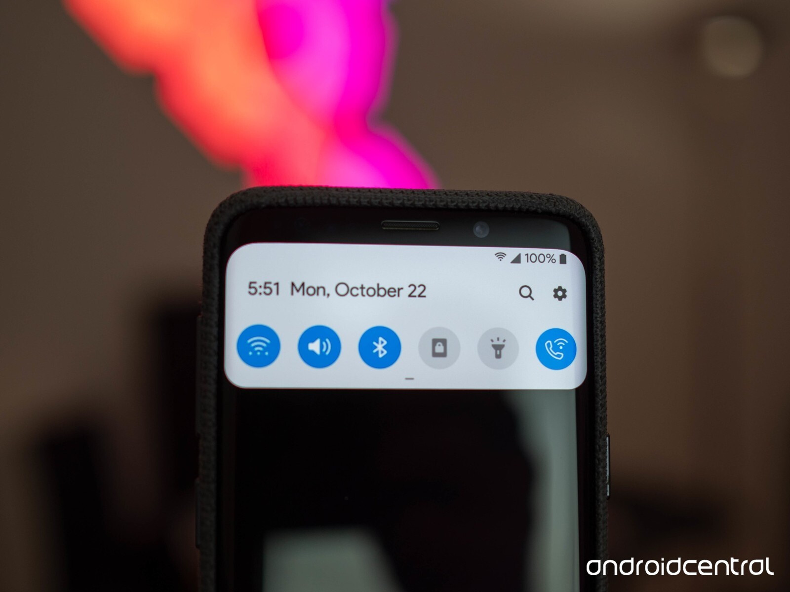More pictures of Android 9 Pie on the Samsung Galaxy S9+:
