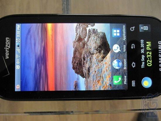 More Samsung Continuum leaked photos