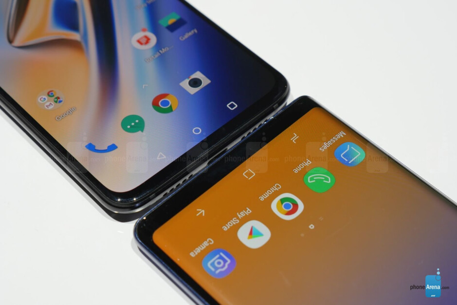 OnePlus 6T vs Samsung Galaxy Note 9: first look