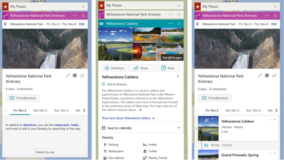 Microsoft adds option to create new travel itinerary on Bing Maps