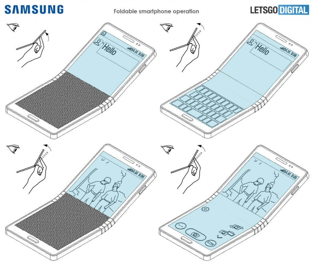 What is Samsung's foldable smartphone and when is it coming