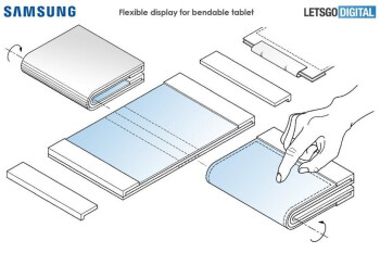 The possible foldable tablet