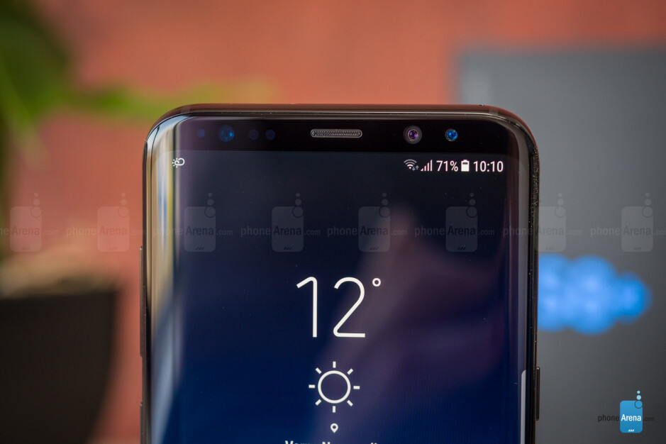 Galaxy S10 is rumored to ditch most of these sensors at the top - Samsung's Galaxy S10 lineup might ditch the iris-scanning functionality