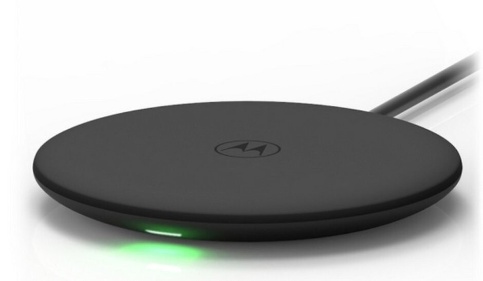 The newly-registered Moto wireless charger - Motorola could soon release its first phone with in-device wireless charging, will it be the Moto G7?