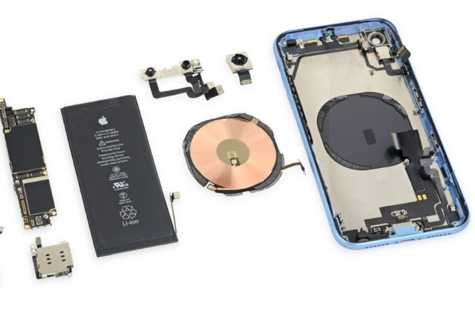 Who's a bad boy? The iPhone XR, its battery, and its wireless charging coil get spread by iFixit - iPhone XR showcases best battery life of all iPhones, our testing confirms