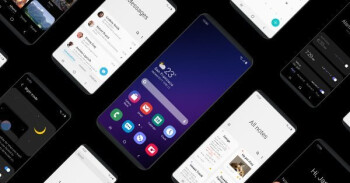 Samsung's new One UI bottom-half interface is created with foldables in mind, soon in beta for your Galaxy S9 or Note 9