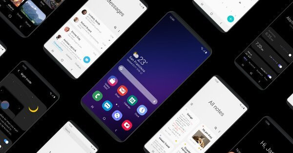 Samsung's new One UI bottom-half interface is created with foldables in mind, soon in beta for your Galaxy S9 or Note 9 - Samsung's bendable Infinity Flex display is here, ready for its foldable phone release