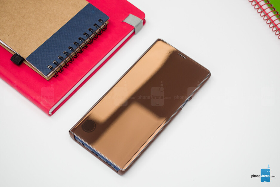 Samsung Galaxy Note 9 official cases overview: S View, Leather Wallet, and Silicone Cover review