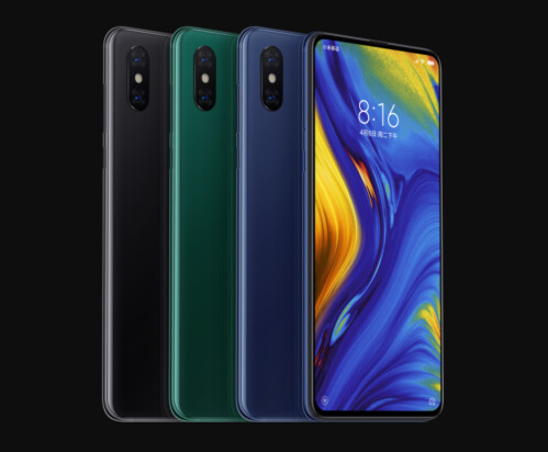 The Xiaomi Mi Mix 3 and Black Shark Helo