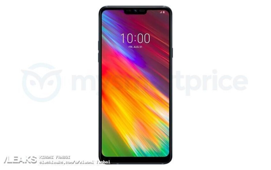 LG Q9 alleged press render. - LG's next phone leaks, new press render shows Q9's front side