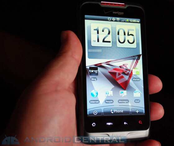 More HTC Merge images and video leak, Verizon's world phone gets benchmarked