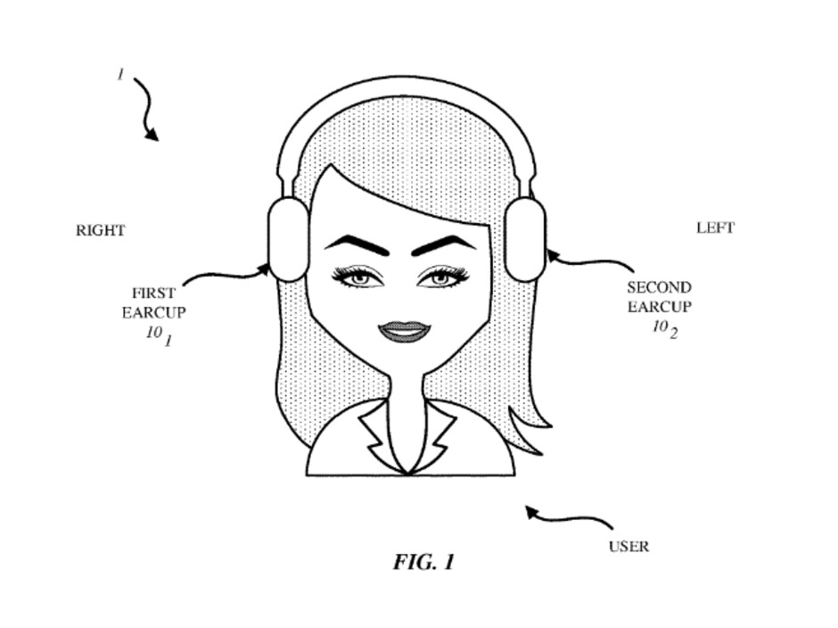 Another image from the patent application - Apple files another patent application to make sure a headset is being worn correctly