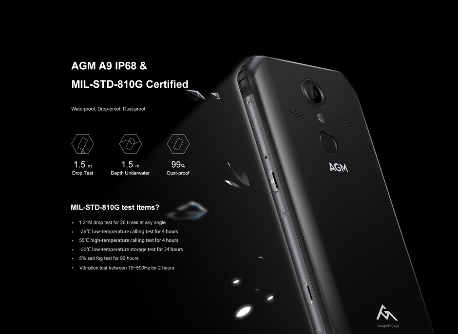 The AGM A9 is a tough adventurer with four JBL speakers and 5400mAh battery